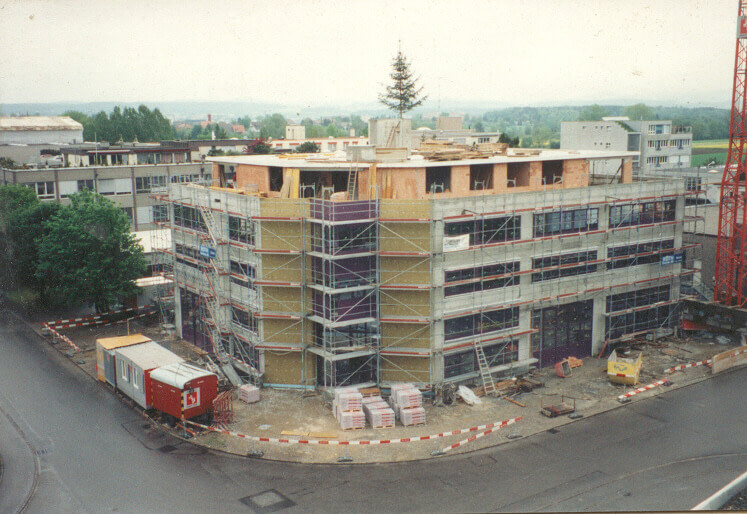 Fertige Bauhöhe 1994