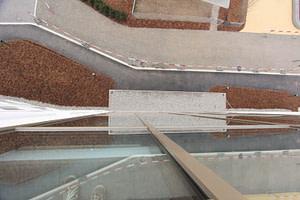 Pfosten-Riegelkonstruktion mit Wärmeschutz-Isolierglas
