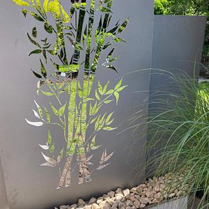 Sichtschutzwand Bambus
