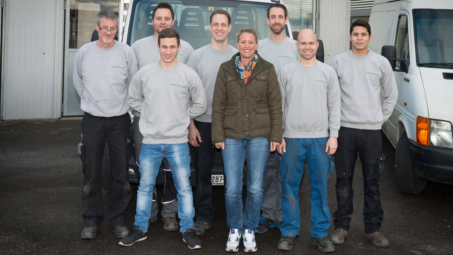 Stoop Metallbau Teamfoto