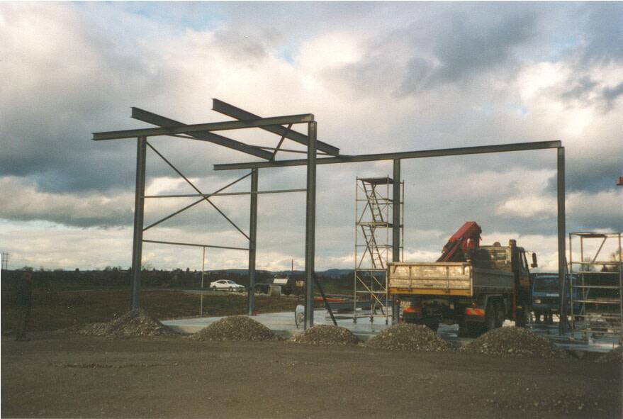4-Westecke Stahlbau 2000