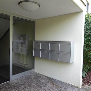 Briefkasten-Anlage