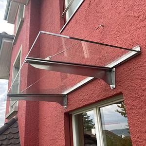 Neues Vordach Küchenfenster