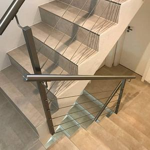 Neues Treppengeländer