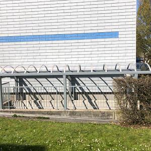 Treppenüberdachung mit Plexigläser