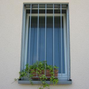 Fenstergitter Badezimmer