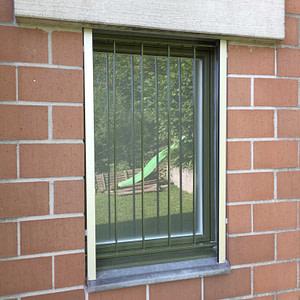 Fenstergitter WC