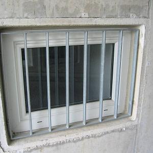 Fenstergitter Garage