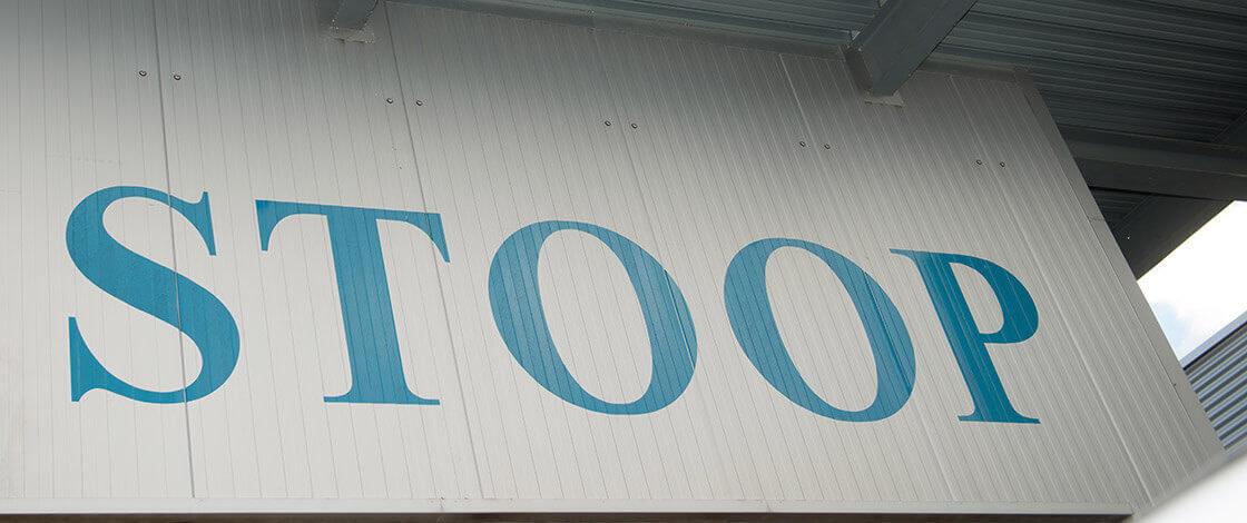 Stoop Metallbau Kontakt Banner